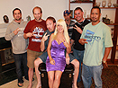 Big Tit MILF Gang Bang Bukkake Party