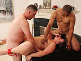 Anal MILF Whore Banged by Bukkake Boys