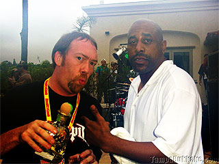 Dirty D and Tone Loc at the Player's Ball Wet T-Shirt Contest