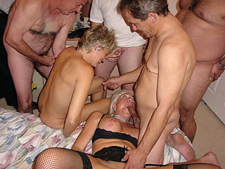 Housewives Orgy Party